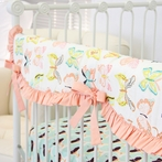 Bentley's Butterfly Crib Rail Cover