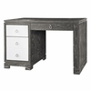 Brooke Desk - Gray and White