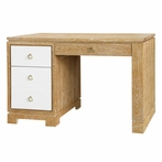 Berkeley Desk - Oak and White