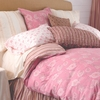 Berry Camille Reversible Duvet Cover