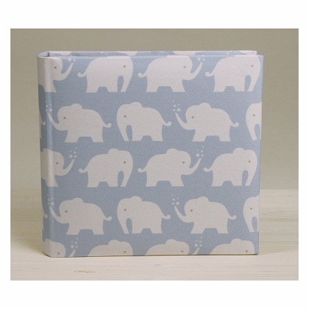 On Sale Berry Elephant Photo Album  in Blue