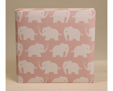 Berry Elephant Photo Album in Pink