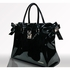 Bethany Patent Leather Diaper Bag