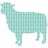 Betty the Lamb Peel & Stick Wall Decals