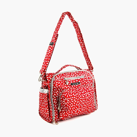 BFF Diaper Bag in Scarlet Petals