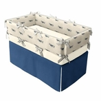 Bi-Plane Crib Bedding Set