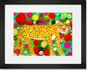 Big Cat Leopard Framed Art Print