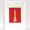 Big City Chrysler Building Skyscraper Art Print