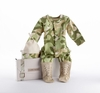 Big Dreamzzz Baby Camo Two-Piece Layette Set