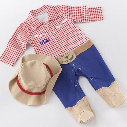 Big Dreamzzz Baby Cowboy Two-Piece Layette Set