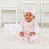 Big Dreamzzz Baby M.D. 3-Piece Layette Set in Pink