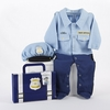 Big Dreamzzz Baby Officer 2-Piece Layette Set