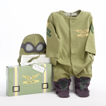 Big Dreamzzz Baby Pilot Two-Piece Layette Set