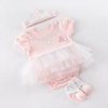 Big Dreamzzz Baby Princess Three-Piece Layette Set