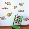Big Fishes Wall Decal