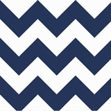 Big Zig Zag in Navy
