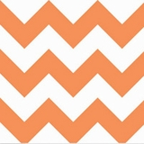 Big Zig Zag in Orange
