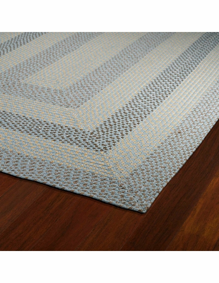 Bimini Braided Rug in Blue