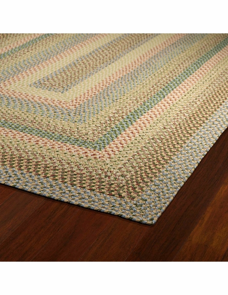 Bimini Braided Rug in Decolores