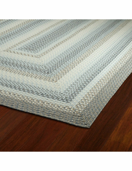 Bimini Braided Rug in Graphite