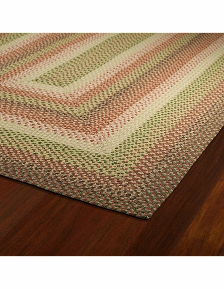 Bimini Braided Rug in Sage