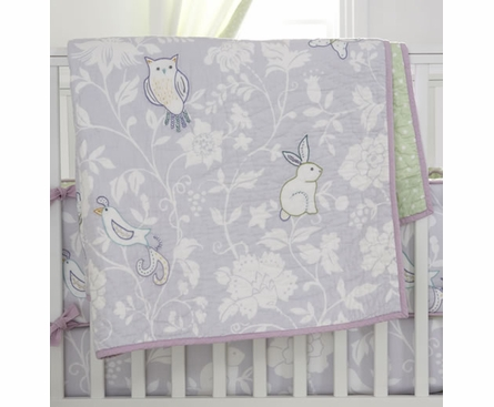 Bird of Paradise Crib Bedding Set