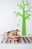 Bird Tree in Light Green Kids Wall Stickers