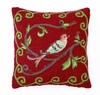 Bird Watcher in Red Hook Pillow