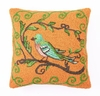 Bird Watcher in Yellow Hook Pillow