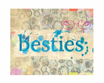 Birdie Besties Canvas Wall Art