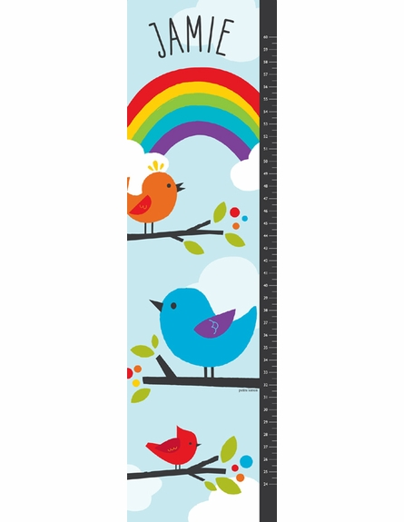 Birdie Buddies Personalized Growth Chart