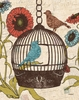 Birds & Blooms III Wall Art