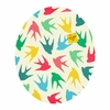 Birds Multicolor Oval Magnet Board