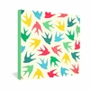 Birds Multicolor Wrapped Canvas Art