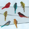 Birds on a Wire I Wall Art