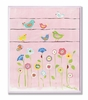 Birds on Wire Floral Wall Plaque