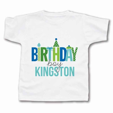Birthday Boy Personalized T-Shirt