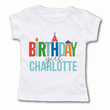 Birthday Girl Personalized T-Shirt