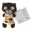 Bixby Bear Softie Toy with Blanket
