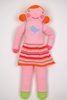 Blabla Pumpkin Knit Doll - Small