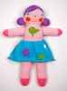 Blabla Violet Knit Doll - Small