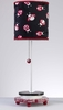 Black and Red Ladybug Stick Lamp