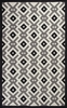 Black and White Diamonds Rug