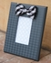 Black Bow Tie Houndstooth Picture Frame