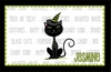 Black Cat Personalized Placemat