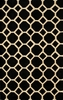Black Circles Bliss Rug