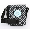 Black Circles Monogram Sling Bag