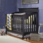 Black Convertible Crib
