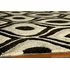 Black Geometric Bliss Rug
