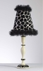Black Giraffe Lamp
